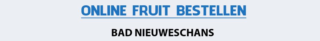fruit-bezorgen-bad-nieuweschans