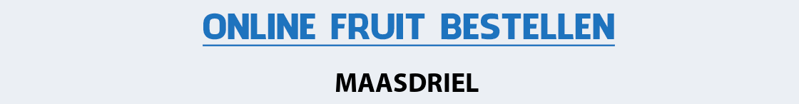 fruit-bezorgen-maasdriel